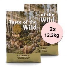 TASTE OF THE WILD Pine Forest 2 x 12,2 kg