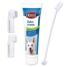 Mundhygiene für Hunde - Zahncreme + Bürsten