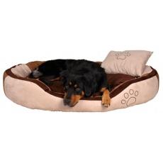 Hundebett mit Kissen aus Velours, 60 x 50 cm