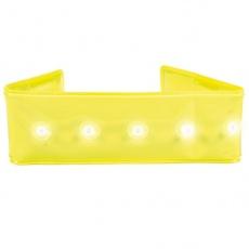 Hundehalsband mit Blinklicht, 25 cm