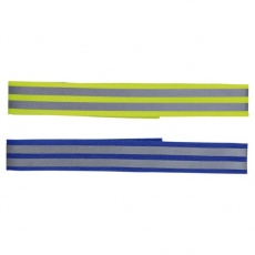 Reflektierendes Hundehalsband mit Klettverschluss, 38 cm