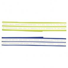 Reflektierendes Hundehalsband mit Klettverschluss, 65 cm