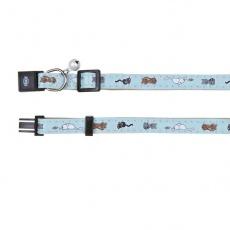 Halsband für Katzen, blau - Kätzchen - 18 - 30 cm