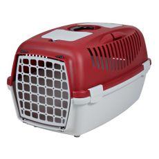 Transportbox für Hunde bis 12 kg - rot