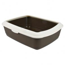 Toilette für Katzen, Kunststoff - 37 × 15 × 47 cm