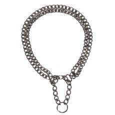 Würgehalsband für Hunde - zweireihig, 60cm/2,5mm