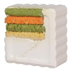 Vitamineblock für Hasen und Meerschweinchen - Mais, 80g