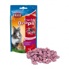 Snacks für Nager - Frucht Drops, 75g