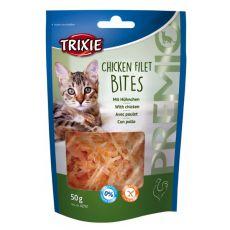 Snacks für Katzen - Hühnerfilets, 50g