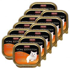 Animonda Vom Feinsten Adult Cats - Geflügel und Kalb 12 x 100g