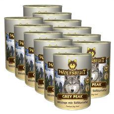 Feuchtnahrung WOLFSBLUT Grey Peak PURE, 12 x 395 g