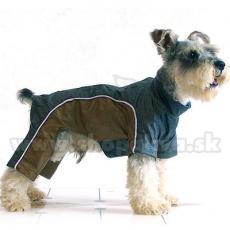 Hunde Overall - goldengrau, XS
