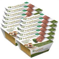 Applaws Paté Dog - Pastete für Hunde mit Lammfleisch und Gemüse, 12 x 150g