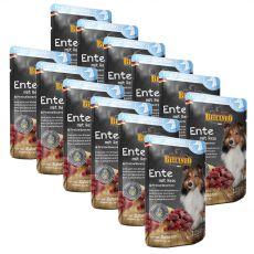 BELCANDO Ente mit Reis und Preiselbeeren - Beutel 12 x 125 g