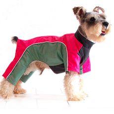 Overall für Hunde - pinkgrün, XS