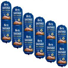 BRIT Sausage Chicken 6 x 800 g