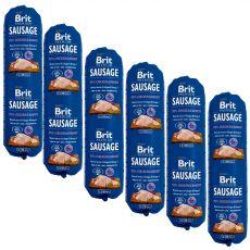 BRIT Sausage Chicken & Rabbit 6 x 800 g