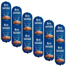 BRIT Sausage Chicken & Lamb 800 g