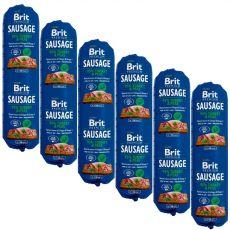 BRIT Sausage Turkey & Peas 6 x 800 g