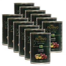 Feuchtnahrung NUEVO DOG Adult Lamb & Potato 12 x 400 g