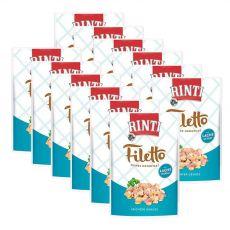 Frischbeutel RINTI Filetto Huhn + Lachs, 12 x 100g