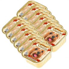Schale Mister STUZZY Dog - Kaninchen, 12 x 150g