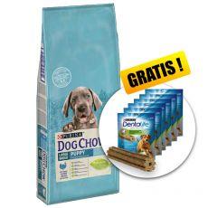PURINA DOG CHOW PUPPY Large Breed TURKEY 14kg+ GESCHENK