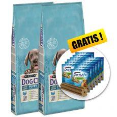 PURINA DOG CHOW PUPPY Large Breed TURKEY 2 x 14 kg+ GESCHENK