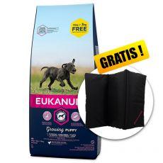 EUKANUBA PUPPY & JUNIOR Large Breed 15kg + 3kg GRATIS + GESCHENK