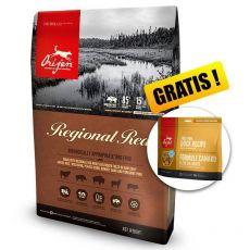Orijen Regional Red Dog 6 kg + GESCHENK