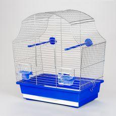 Käfig für Papagei MARGOT I chrom - 43 x 25 x 47 cm