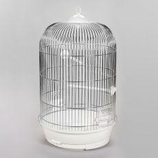 Käfig für Papagei JULIA II chrom - 34 x 34 x 63 cm