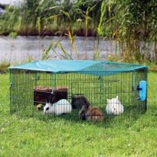 Freilaufgehege für Meerschweinchen und Hasen