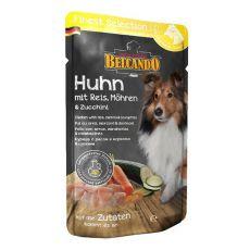 BELCANDO Huhn mit Reis, Karotten und Zucchini - Beutel 300g
