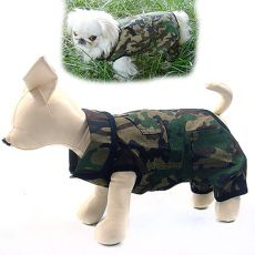 Overall für Hunde CAMOUFLAGE - L
