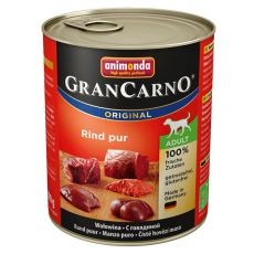 Dose GranCarno Fleisch Adult Rind - 800 g