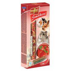Vitapol Smakers Erdbeere Stecken für Nager 90g