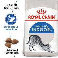Royal Canin - Indoor 27 Futter für Katzen im Interieur lebend 2kg