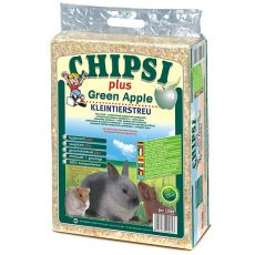 CHIPSI PLUS GREEN APPLE Hobelspäne für Nager, Apfel - 60 L