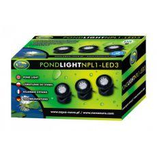 Beleuchtung für den Teich NPL1-3LED 3x1,6W