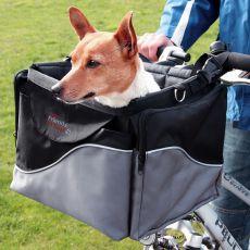 Luxuriöse Hundetransportbox für Fahrrad 41 x 26 x 26 cm