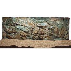 3D Aquarium Hintergrund 100x60 cm - STEIN