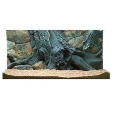 3D Aquarium Hintergrund 100x60cm - AMAZON