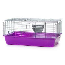 Käfig für Kaninchen und Meerschweinchen - KRALIK 80 chrom