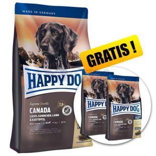 Happy Dog Supreme Canada 12,5kg + 2 x 1kg GRATIS