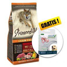 Primordial GF Adult Buffalo & Mackerel 12kg + GESCHENK