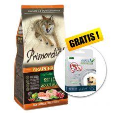 Primordial GF Adult Chicken & Salmon 12kg + GESCHENK