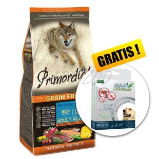Primordial GF Adult Trout & Duck 12kg + GESCHENK