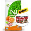 Farmina N&D dog GF ADULT MINI Fish & Orange 7 kg + GESCHENK
