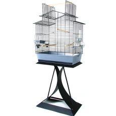 Käfig für Papageien IZA III + Ständer